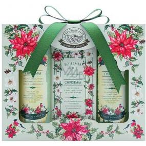 Bohemia Gifts & Cosmetics Green Spa sprchový gel 100 ml + toaletní mýdlo 100 g + vlasový šampon 100 ml