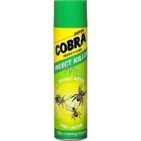 Super Cobra Kills Crawling Insects sprej proti lezoucímu hmyzu 400 ml