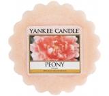 Yankee Candle Peony - Pivoňka vonný vosk do aromalampy 22 g