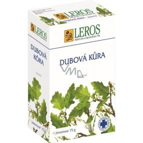 Leros Dubová kůra k zevnímu užívání na hemeroidy, ekzémy sypaná 75 g