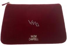 DÁREK Naomi Campbell Prét a Porter Absolute Velvet semišová etue 22 x 16 x 1 cm
