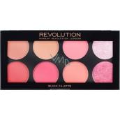 Makeup Revolution Ultra Blush Palette Sugar and Spice paletka tvářenek 13 g