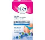 Veet Easy-Gel Bikini depilační voskové pásky pro citlivou pokožku 16 kusů