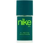 Nike A Spicy Attitude for Man parfémovaný deodorant sklo pro muže 75 ml