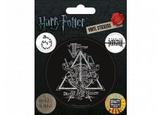 Epee Merch Harry Potter Sada samolepek Symboly 5 kusů