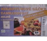 Press Mikrotenové sáčky zamrazovací s možností popisku 20 x 30 cm 50 kusů