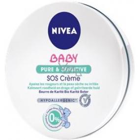 Nivea Nutri Sensitive SOS okamžitě zklidňující krém pro děti 150 ml