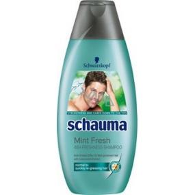 Schauma Svěžest máty šampon na vlasy pro muže 400 ml