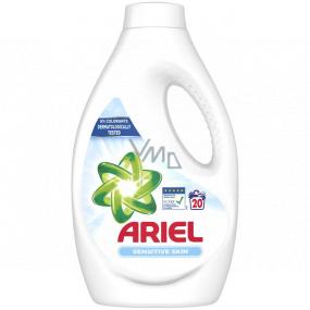 Ariel Sensitive Skin tekutý prací gel 20 dávek 1100 ml