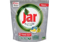 Jar Platinum All in One Lemon Kapsle do myčky nádobí 72 kusů