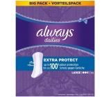 Always Dailies Extra Protect Large s jemnou vůní slipové intimní vložky 52 kusů
