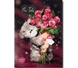Albi Svítící přání Me To You s růžemi