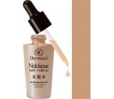 Dermacol Noblesse Fusion zdokonalující tekutý make-up 04 Tan 25 ml