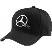Mercedes-Benz Kšiltovka černá s šedým logem