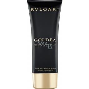 Bvlgari Goldea the Roman Night tělové mléko pro ženy 100 ml