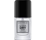 Catrice Super Dry Gloss Top Coat krycí lak na nehty 10 ml