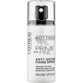 Catrice Prime And Fine Anti-Shine Fixing Fixační sprej 50 ml
