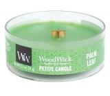 WoodWick Palm leaf - Palmový list vonná svíčka s dřevěným knotem petite 31 g