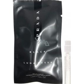 Prada Luna Rosa Black parfémovaná voda pro muže 1,5 ml s rozprašovačem, vialka