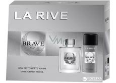 La Rive Brave toaletní voda pro muže 100 ml + deodorant sprej 150 ml, dárková sada