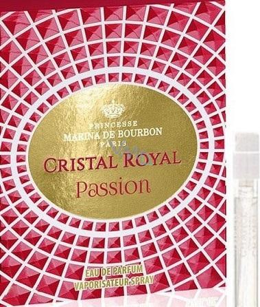 Marina De Bourbon Royal Passion Perfumed Water for Women 1 ml vial