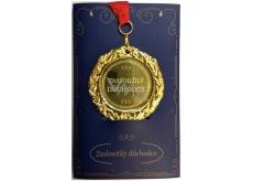 Albi Papírové přání do obálky Přání s medailí - Důchodce W
