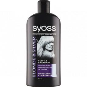 Syoss Blonde & Silver šampon pro melírované, blond a šedivé vlasy 500 ml