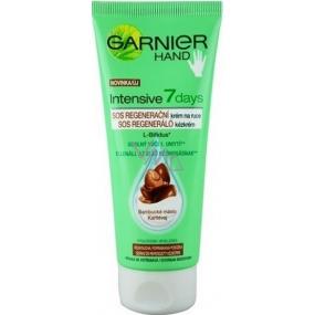 Garnier Intensive 7 days SOS Regenerační krém na ruce Bambucké máslo 100 ml