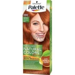 Schwarzkopf Palette Permanent Natural Colors barva na vlasy 390 Světle měděný