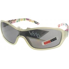 Dudes & Dudettes JK114 šedé sluneční brýle pro děti