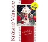 Nekupto Přání k Vánocům Krásné Vánoce lucerna
