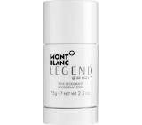 Montblanc Legend Spirit deodorant stick pro muže 75 g