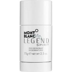 Mont Blanc Legend Spirit deodorant stick pro muže 75 g