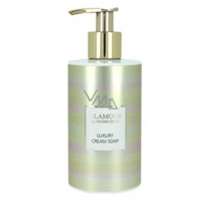 Vivian Gray Glamour Golden luxusní tekuté mýdlo s dávkovačem 250 ml