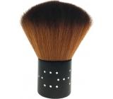 Kosmetický štětec na pudr černá rukojeť 7 cm 30450