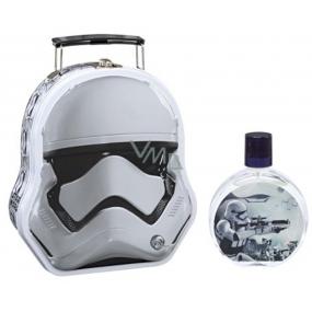 Disney Star Wars Metallic Case toaletní voda pro děti 100 ml + kovový kufřík