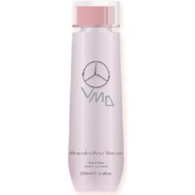 Mercedes-Benz Mercedes Benz Woman Eau de Toilette tělové mléko 200 ml