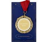 Albi Papírové přání do obálky Přání s medailí - Oslavenec roku W