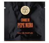 Erbario Toscano Černý pepř osvěžující vlhčené ubrousky 7 kusů
