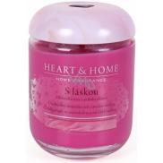 Heart & Home S láskou Sojová vonná svíčka velká hoří až 70 hodin 310 g