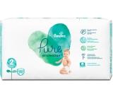 Pampers Pure Protection velikost 2, od 4-8 kg plenkové kalhotky 39 kusů