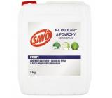 Savo Profi Podlahy a povrchy Lemongrass čisticí prostředek dezinfekční ke každodennímu úklidu ploch 5 kg