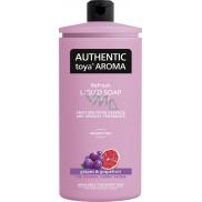 Authentic Toya Aroma Grapes & Grapefruit tekuté mýdlo náhradní náplň 600 ml