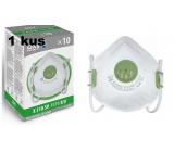 Respirátor ústní ochranný - filtrační polomaska 4-vrstvý FFP3, Oxyline X 310 SV s ventilem Profesionální ochrana 1 kus