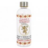 Epee Merch Hra o Trůny Game of Thrones Hydro Plastová láhev s licenčním motivem, objem 850 ml