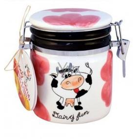 Dairy Fun Peach & Mango tělový peeling 300 ml