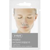 Ziaja Šedý jíl čistící pleťová maska smíšená a mastná pleť 7 ml