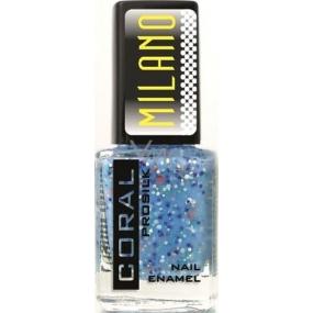Delia Cosmetics Milano Coral Prosilk Nail Enamel lak na nehty M06 11 ml