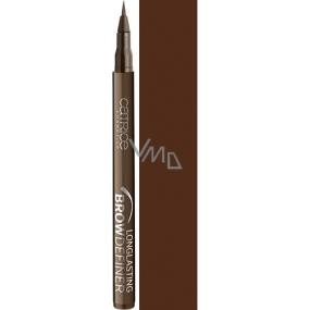 Catrice Longlasting Brow Definer dlouhotrvající pero na obočí 030 Chocolate Brownie 1 ml