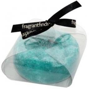 Fragrant White Musk Glycerinové mýdlo masážní s houbou naplněnou vůní parfému White Musk v barvě tyrkysové 200 g